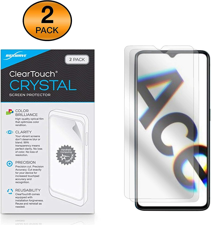 BoxWave Oppo Reno Ace Screen Protector ClearTouch Anti-Glare Anti-Fingerprint Matte Film Skin for Oppo Reno Ace 2-Pack
