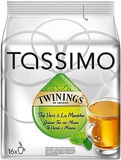 Tassimo Twinings Green Tea & Mint, 32 T-discs