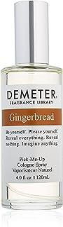 Demeter Gingerbread Eau de Cologne Spray for Women, 4 Ounce