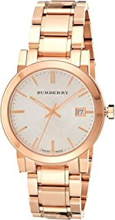 Burberry Women's Silver Dial Stainless Steel Band Watch - BU9004