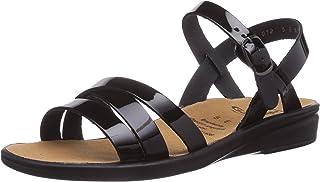 Ganter Sonnica-e open sandalen voor meisjes met sleehak.