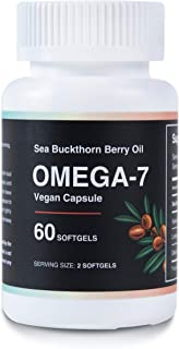 Sea Buckthorn Farm Oil Blend Omega 7 Nutritional Supplement - Sea Buckthorn Oil Omega 3 - Sea Buckthorn Oil Capsules Omega...