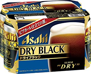 アサヒ スーパードライ ―ドライブラック― 缶 350ml×6缶