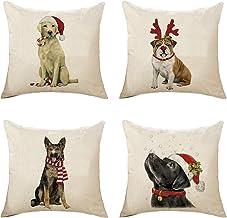 Amazon Com Dog Christmas Pillows