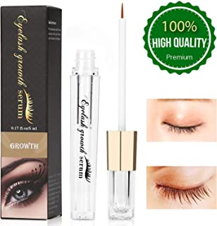 Eyelash Growth Serum Eyebrow Enhancer Serum Professional Eyelash Booster for Naturally Longer, Fuller & Thicker