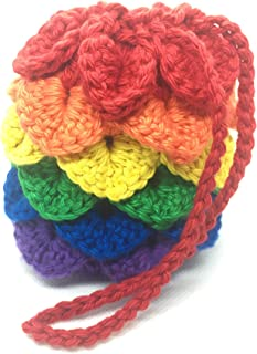 crochet dice bag
