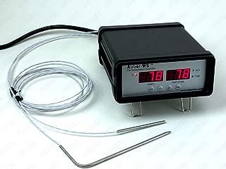Auber Instruments Dual-Probe PID Controller for Bradley Smoker, WSD-1200GPH