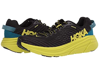 Hoka One One Rincon (Black/Citrus) Men