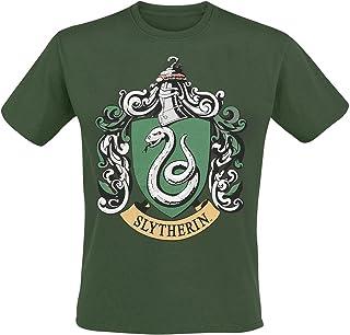 Playlogic International(World) Harry Potter Slytherin Camiseta Manga Corta para Hombre
