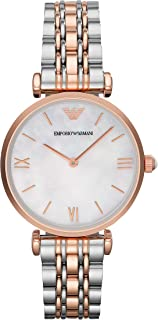 Emporio Armani Women's Stainless Steel Two-Hand Dress Watch
