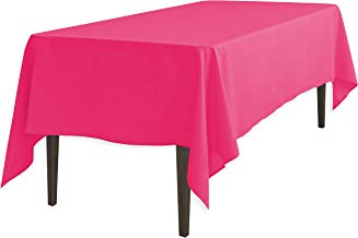 LinenTablecloth 120 Inch Rectangular Polyester Tablecloth
