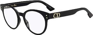 نظارة طبية بإطار دائري شفاف للنساء من ديور CD3 0807 49