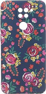 جراب خلفي سليم تصميم زهور لشاومي ريدمي نوت 9S من بوتر - متعدد الالوان