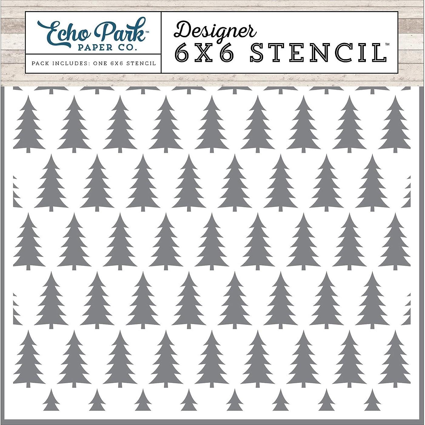 Echo Park Paper Company Winter Pines Stencil