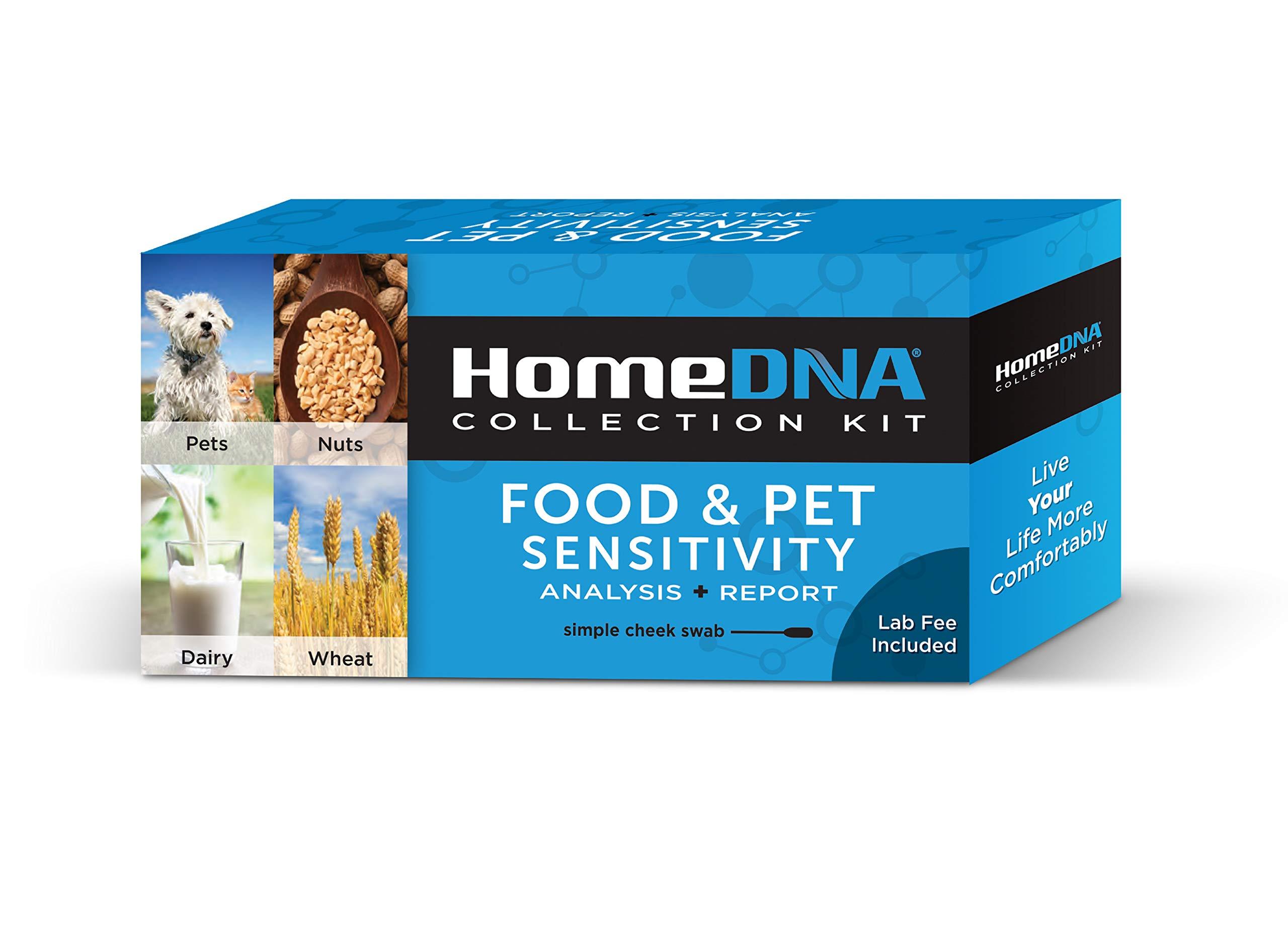 Sensitivity Testing HomeDNA Check Intolerances