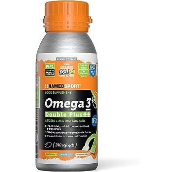 Named Sport Omega 3 Double Plus ++ 240 Softgel - 990 Gr