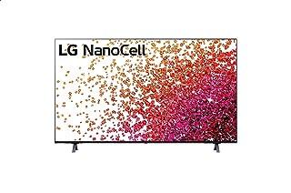 تليفزيون سمارت 50 بوصة نانوسل بتقنية المدى الديناميكي العالي 4K وتقنية ThinQ AI ونظام تشغيل WebOS من ال جي - 50NANO75VPA