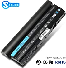 New 97Wh Latitude E5420 E6420 Laptop Battery for Dell E5520 E5530 E6520 Compatible P/N: M5Y0X T54FJ 2P2MJ 312-1325 312-1165 PRV1Y-12 Months Warranty