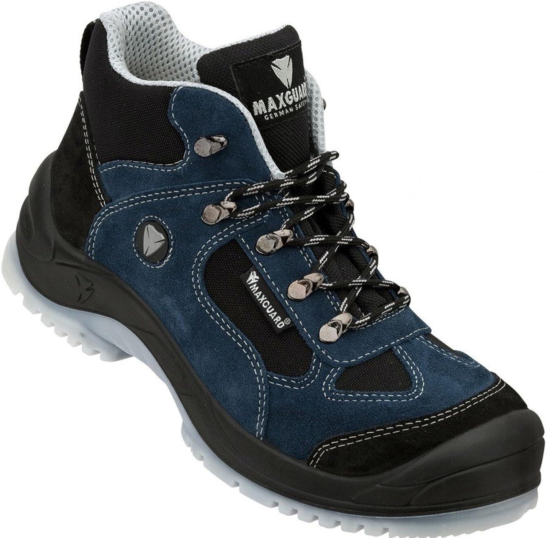Maxguard Eddie Sicherheits-Stiefel S1P EN EN EN ISO 20345 blau  40a095