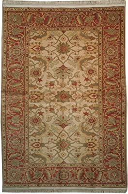 Antiques Antique Indian Carpet Bb4191 Buy One Give One