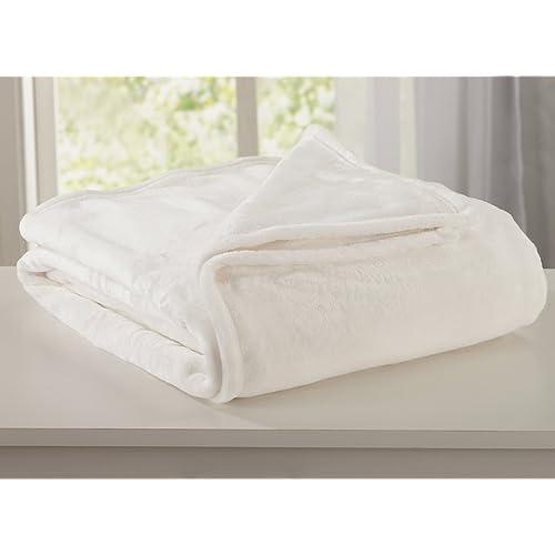 Home Fashion Designs Marlo Collection Ultra Velvet Plush All-Season Super  Soft Luxury Bed Blanket b49ae7907