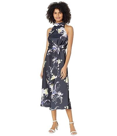 Ted Baker Decadence Halterneck Midi Dress (Navy) Women