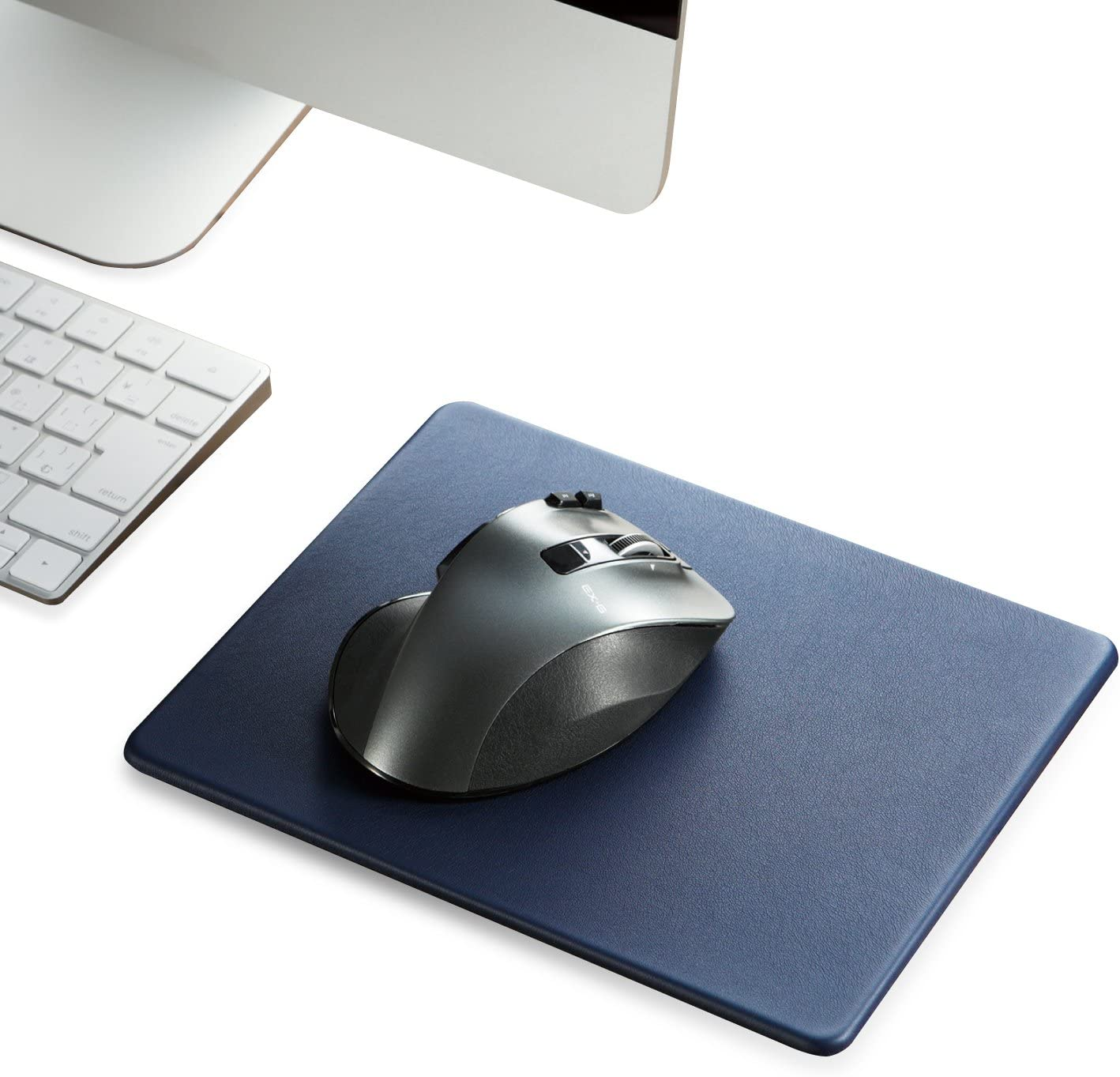 ELECOM Soft Leather Mouse Pad Reservation Large Skid Sale Special Price PU Anti So Size