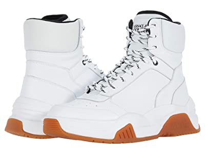 Versace Jeans Couture Fire1 High Top Sneaker (White) Men