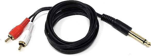 ACAMPTAR 5M 5 Metres Cable Cordon Jack pour Guitare Guitar Electrique