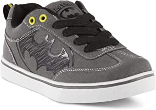 BBC International Batman Character Boys Gray Sneakers
