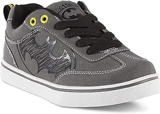 Batman Character Boys Gray Sneakers