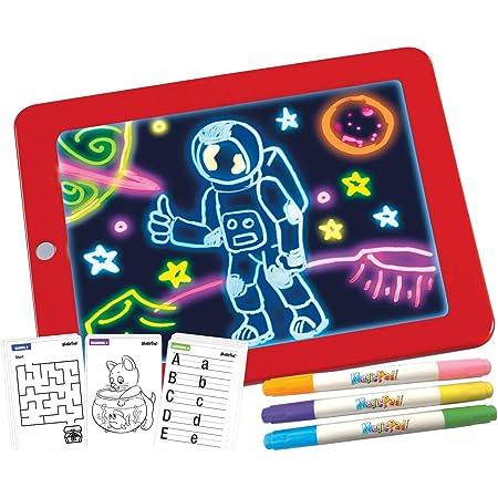 Magic Pad Das Magische Tablet In Xl Version Mit 48 Zubehörteilen Aus Dem Tv Spielzeug