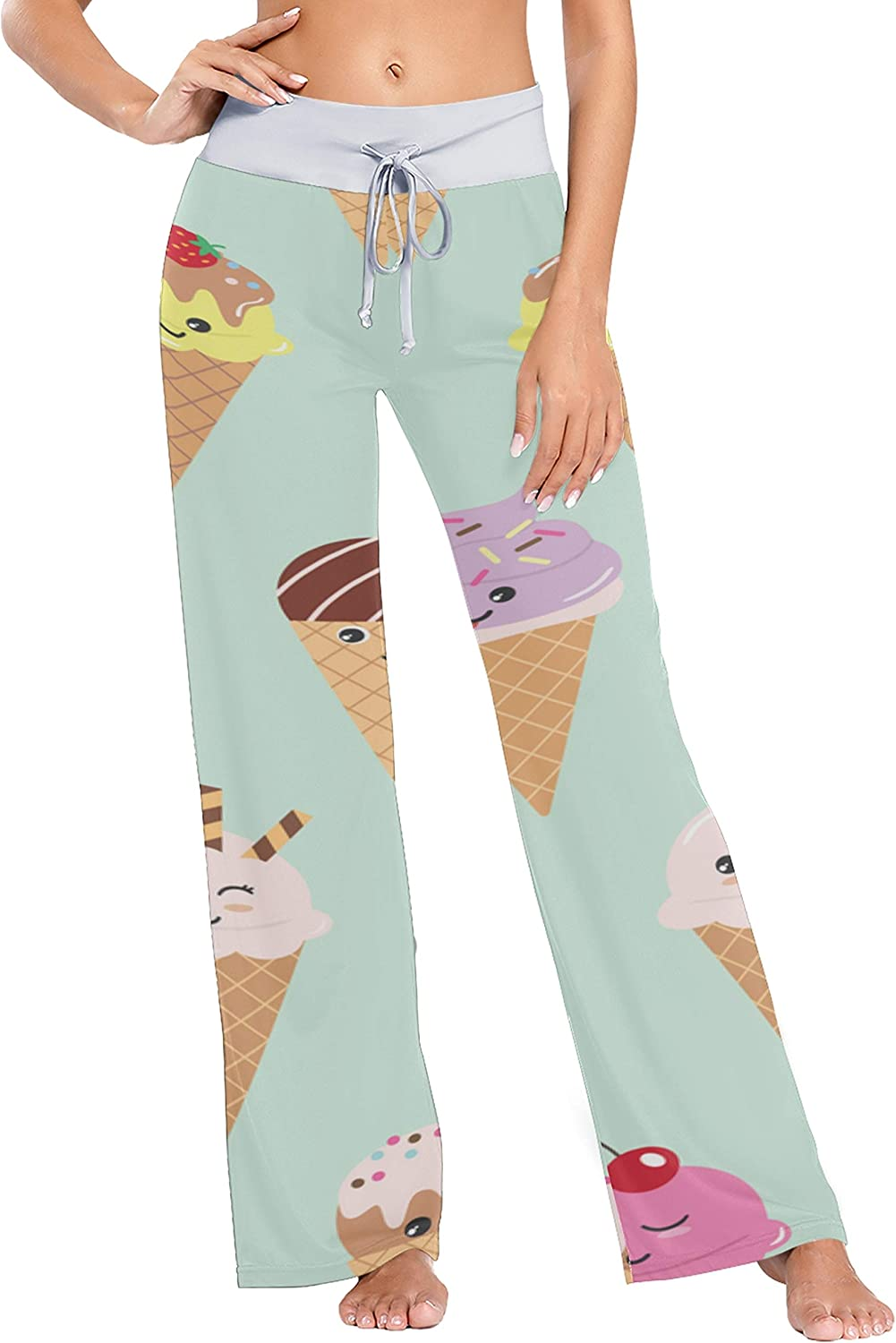 Girl Pajama Pants Colorful Fort Beauty products Worth Mall Baby Bottoms Ice Cream Womans