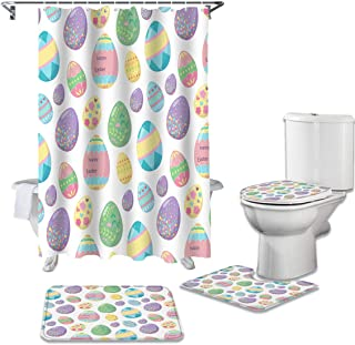 Designer Bathroom Shower Curtain Easter Printed for Bathroom Home B1213