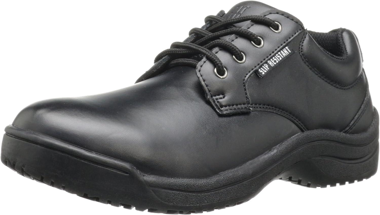 Skidbuster 5076 Women's Leather メーカー公式 Oxford Resistant ついに入荷 Slip