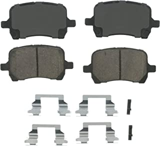Wagner QuickStop ZD1160 Ceramic Disc Pad Set Includes Pad Installation Hardware, Front