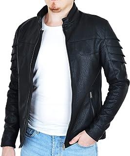 a03b2970ace98 Fomino Erkek Deri Mont Ceket - Slimfit Zırh fashion 2019