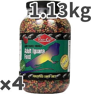レップカル アダルト イグアナ フード 1.13kg×4入
