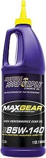 Royal Purple 01303 Max Gear 85W-140 High Performance Synthetic Automotive Gear Oil - 1 qt.