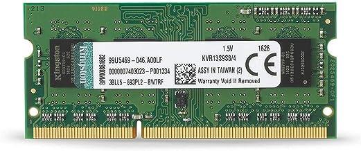 Kingston KVR13S9S8/4 4GB 1333MHz DDR3 Non-ECC CL9 SODIMM 1Rx8