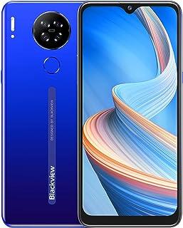 Blackview A80S スマートフォン本体 simフリー スマホ 本体 RAM 4GB + ROM 64GB オクタコア 4200 mAh バッテリー Android 10スマホ 6.21インチ13MP+5MPカメラ 顔認証 指紋認証 格...