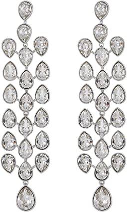 Lake Pear Chandelier Pierced Earrings