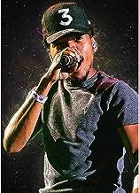 ClifeDesign Chance The Rapper Fine Art Print Rap Poster Home Wall Decor Unframed (40