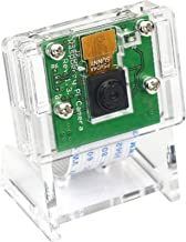 5MP 1080P Video Camera Module for Raspberry Pi 4 Model B, Pi 3 b+, Pi Zero W Camera with Case Flex Cable (Camera + Holder)