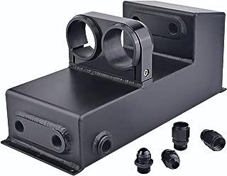 Twin Bosch 044 Fuel Pump Mount Under Car Fuel Surge Tank Black Polished (Black)
