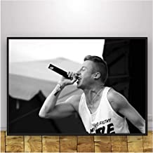 Gounqaf Rapper Macklemore -《Open Your Eyes》Music Poster and Prints Wall Art Canvas Painting Canvas Prints for Home Wall De...