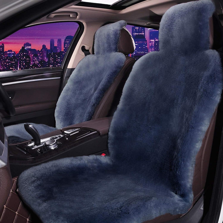 X/&ME Autositzbezug Lammfell Lammfellbezug Autoschonbezug Lammfell 1 Packung Color : Beige