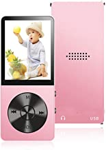 $23 » MP3 Player, 16GB MP3 Player with Hi-Fi Lossless Sound, Portable Music Player with Light Metal, Build-in Speaker, Video Pla...