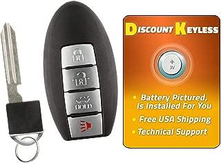 For 02-11 Infiniti & Nissan Keyless Entry Remote Key Fob KBRASTU15, CWTWB1U758, CWTWB1U821