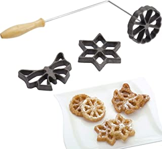westmark 32242260 Waffle Molds With 3 Different Designs Forms vary between 2.75